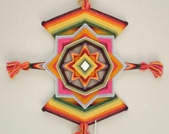 Sparkling Jewel, a 12-inch, 8-sided Mandala by Elizabeth Tingley