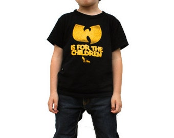 Wu-tang is for the children kids T-Shirt (wutang)