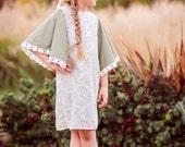 Mod Dress Sewing Pattern, Long Sleeve Dress Pattern, Easy Dress Pattern, Girls Dress Pattern, Knit Sewing Pattern, Boho Dress, Knit Pattern