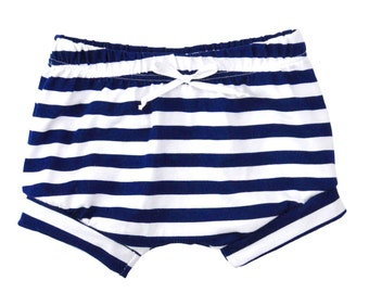 Shorties | Stripes | Sizes 3 Months to 5T | 5 Color Options | summer shorts, unisex shorts