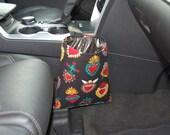 Car Trash Litter Bag Corazones Hearts