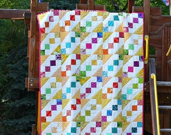 ON SALE Recess Toddler or Lap Quilt