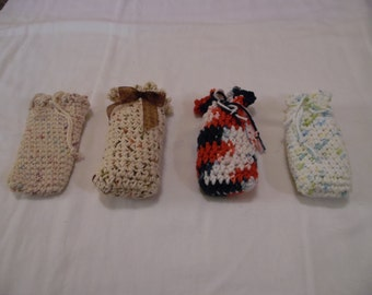 Crocheted Soap Holder/Washcloth