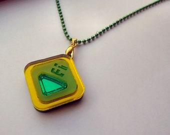 Peridot - Steven Universe Necklace