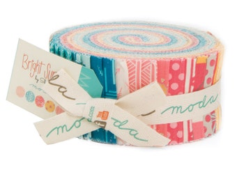 Bright Sun by Sherri & Chelsi of a Quilting Life for Moda - 100% Cotton - 40 Strip Jelly Roll