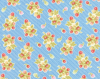 Aloha Girl by Joanna Figueroa/Fig Tree & Co for Moda - 100% Cotton BTY -  Lagoon  20248-12