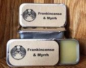Frankincense and Myrrh Solid Perfume Balm