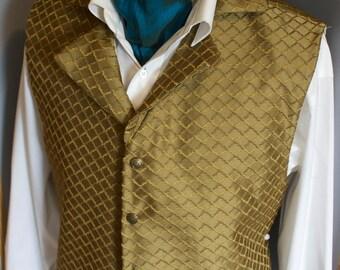 Gold Regency Historic Vest Waistcoat LIMITED