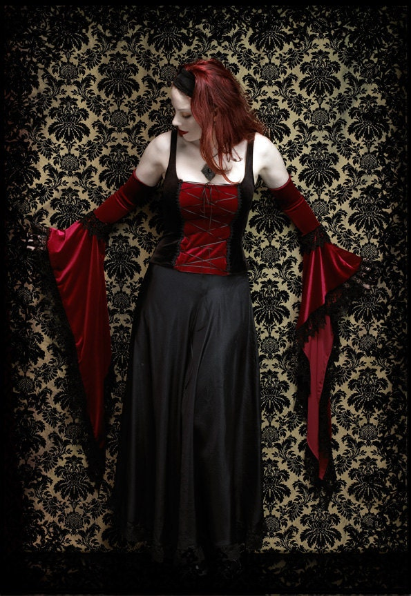 Lucilla Gothic Sleeves by Rose Mortem