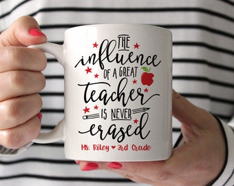 Teacher Gifts End of the Year Teacher Gifts Unique Gifts for Teachers Teacher Mug Personalized Gifts for Teachers Teacher Gifts Personalized