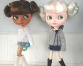 White or Black Fairy Moth Sweater
