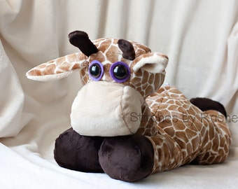 "CUSTOM 22"" Glenn the Giraffe - Softie - Stuffed Giraffe Giraffe - Stuffed Toys - Toys"
