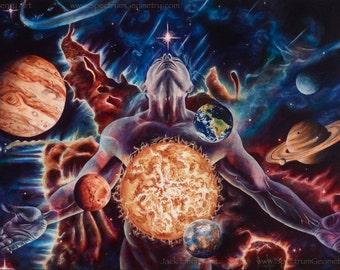 Innerverse ~ Original Artwork by Jack Henry Art
