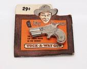 Roy Rogers Tuck-A-Way Gun Cap Gun Deadstock on Original Card