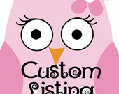 Custom Listing for Jayveeyoung