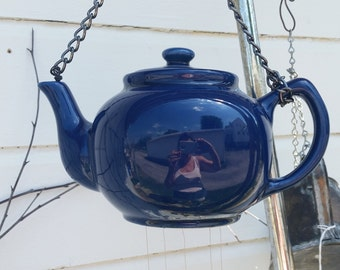 Teapot and silverware windchime