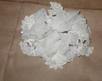 Vintage 1950's Bridal Headpiece
