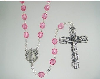 15% OFF SALE October Birthstone Rosary