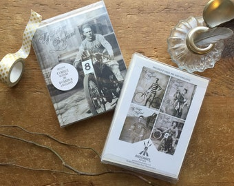 Greeting Card Set,  Blank Notecard, Thank You Cards, Note Card Set, Bicycle Art, My Tintype Boyfriend, Penny Farthing, 1800s, Victorian