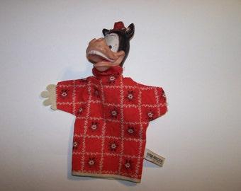 Disney's Horace Horsecollar hand puppet