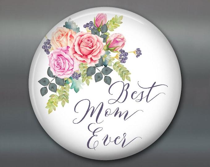"3.5"" Mother's day card, mother's day bouquet, flower fridge magnet, flower decor, kitchen decor MA-1405"