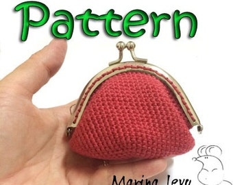 Crocheted Coin Purse with frame