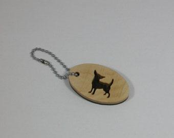 Chihuahua Keychain - Key Holder - Key Ring Accessory
