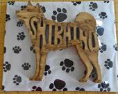 Shiba Inu Handmade Fretwork Wood Puzzle
