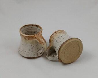 Mug Set of Two 6 oz. Handmade by Daisy Friesen
