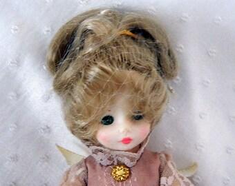 Ideal Doll - Hard Plastic Sleepy Eyed Collectible Doll - 1982