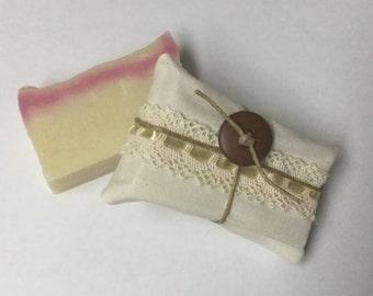 Handmade Lavender Olive and Coconut Oil Soap