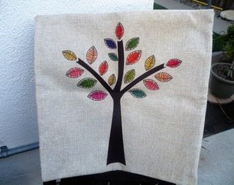 50% off this item, enter LOVE99 at checkout, Pillow Cover, Accent Pillow, Pillow Cover, Decorative Pillow Cover,  Tree Pillow Cover, Tan