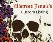 Custom Listing for tracyreedy - Tea Time Bookmark