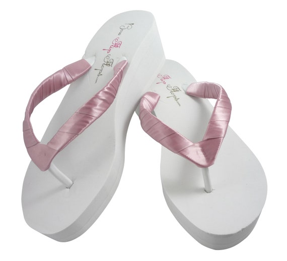 Bridal Flip Flops Wedding Flip Flops  Mauve By Bridalflipflops-6287