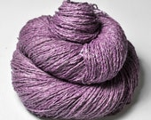 Withering bunch of roses OOAK  - Silk/Linen Fingering Yarn
