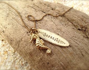 Seahorse Serenity Necklace