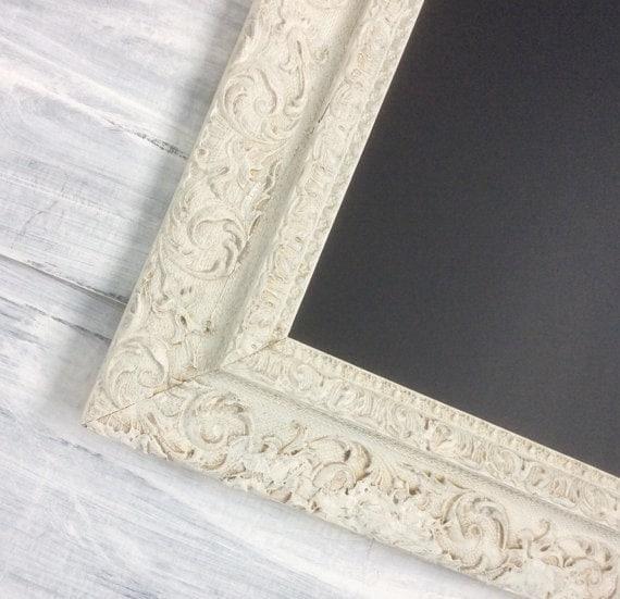 """Ready To Ship-Wedding Chalkboard ANTIQUE FRAMED CHALKBOARD Magnetic Blackboard 27""""x23"""" Rustic Wedding Blackboard Wood"""
