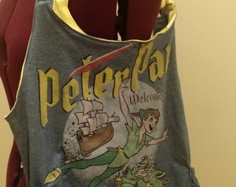 Peter Pan Purse (With side pockets) - 100% recycled materials