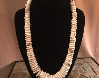 Stone and Pearl Princess Necklace