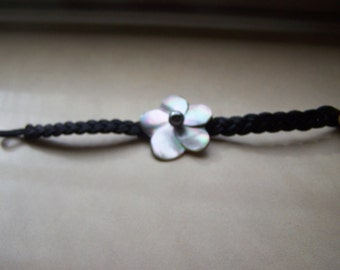 CLEARANCE Hand Crafted Mother of Pearl Woven Bracelet