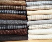 18 Woolie Flannel fat quarters