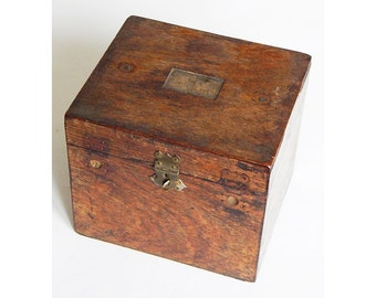 french antique wooden box french wooden storage box camera box