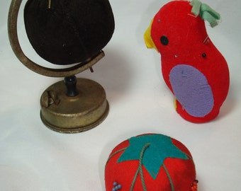 Vintage Sewing Pin Cushions.