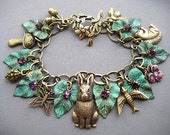 Rabbit Charm Bracelet - Rabbit Bracelet - Rabbit Jewelry - Bunny Bracelet - Easter Jewelry - Bunny Jewelry - Animal Jewelry - Bunnies