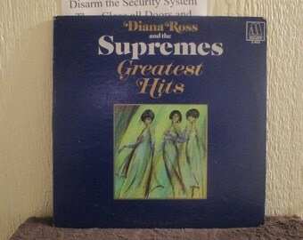 Diana Ross and the Supremes vinyl - Diana Ross and the Supremes Greatest Hits - Original Edition - Vintage Vinyl in Excellent Condition