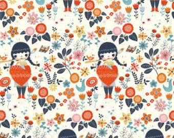 3 Yards Organic KNIT Fabric - Birch Wildland Knits - Windsong Knit LAST ONE