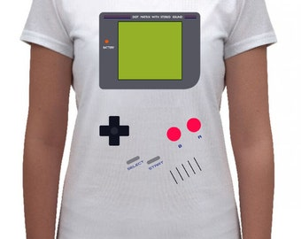 Gameboy Women Tshirt