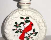 Porcelain with Cardinal Decanter Old Rip Van Winkle Home and Garden Kitchen and Dining Serve Ware Drink and Barware Decanters