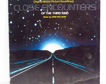Close Encounters Album Cover Purse Custom Made Vintage LP Record Album Handbag Tote