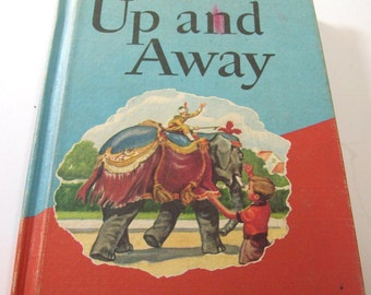 Vintage Up and Away, by Paul McKee 1960s H.M Co, Childrens Stories, Textbook